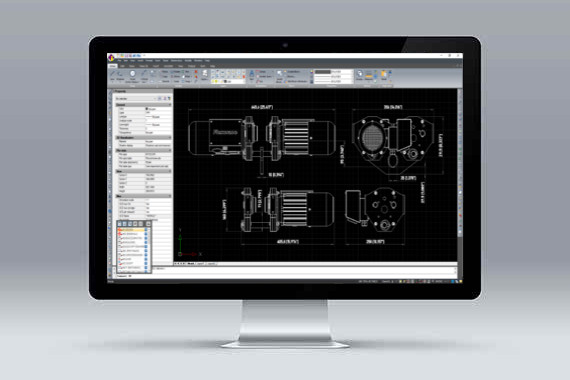 CMS IntelliCAD *.dwg file compatible cad software